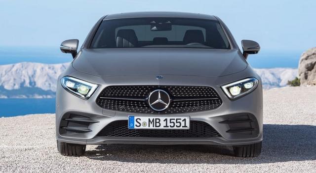 фото нового Mercedes Benz CLS