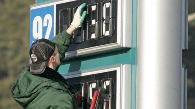 рост цен на топливо